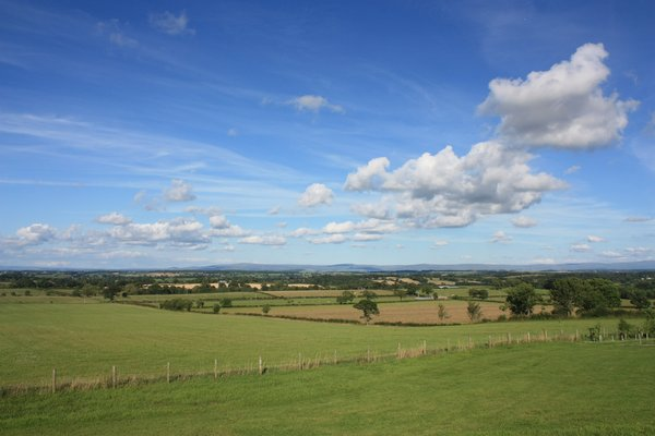 Rural landscape: Views over a farming/rural landscape