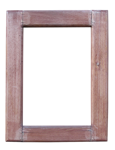 Wooden frame: A frame made of wood.