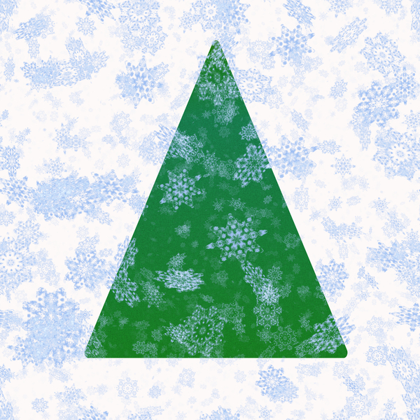 Christmas Tree with Snowflakes: A simple christmas tree shape with lots of snowflakes. Great card or decoration. Very high resolution. See FAQ for terms of use: http://www.rgbstock.com/faq