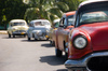 Five Cuban classic cars
