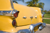 Yellow Cuban classic car