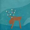 Christmas reindeer paper