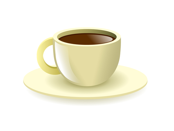 Coffee cup: A vector cup of coffee