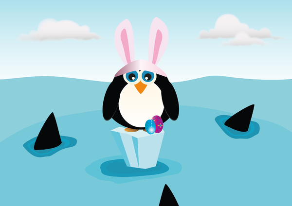 Easter Penguin ...: no description
