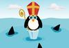 Sinterklaas Penguin