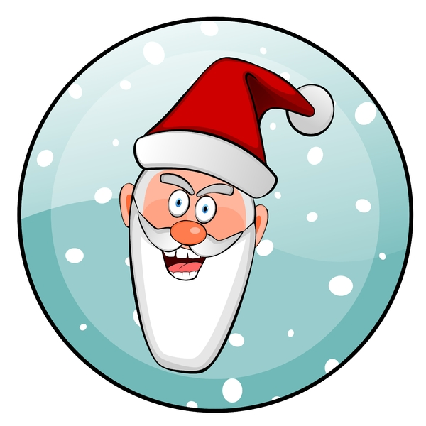 Crazy Santa1: Little crazy Santa Claus