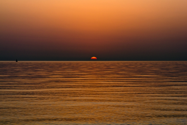 Day Break: Sun Rise on the MidEast Gulf