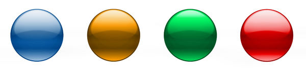 Transparent buttons: Transparent buttons in 4 colors. You can put any sign into the button.