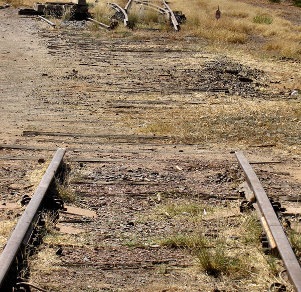 end of the line2: abandoned and disused railway line in  Central Australia