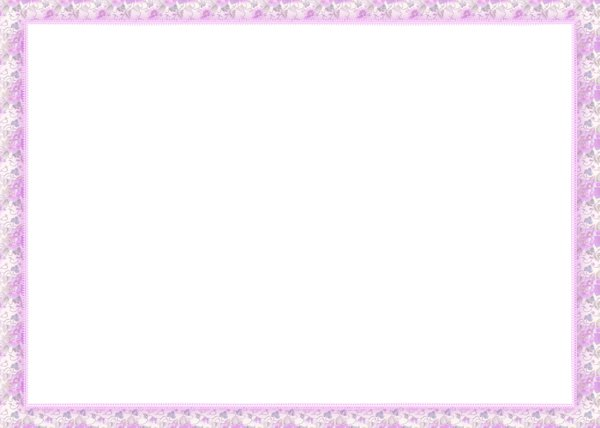 Pretty Floral Frame: A dainty pink floral frame that could be a card, greeting,paper, menu, price list, etc.