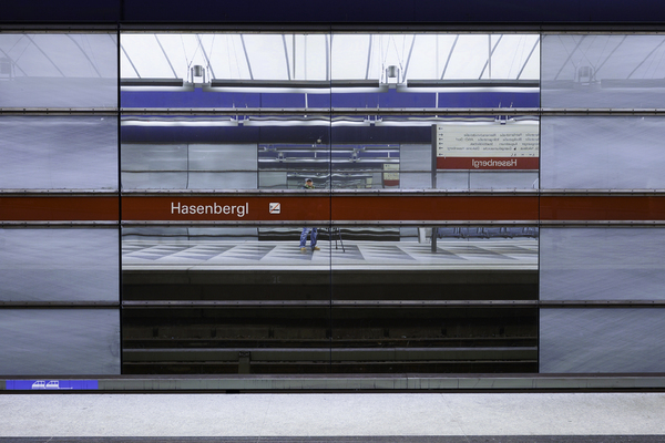 Subway Station in Munich: Photographing in the Subway Station