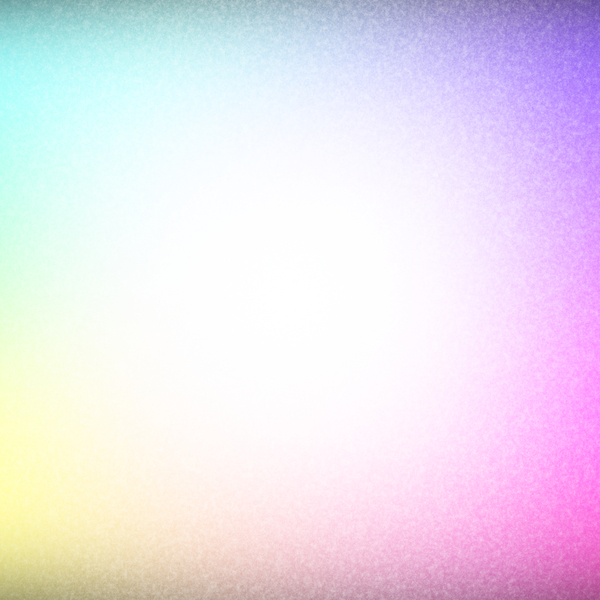 Frosty 1: A frosted background, border or frame in pastel rainbow colours.