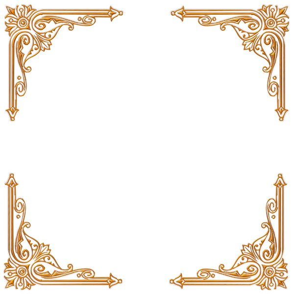 Free stock photos rgbstock free stock images golden for Classic border design