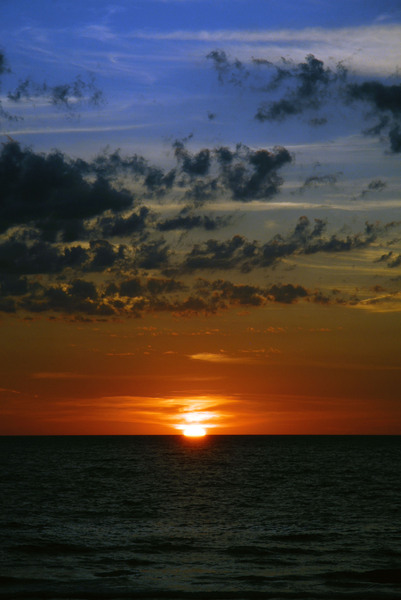 Sunset: Sunset on the Gulf of Mexico.
