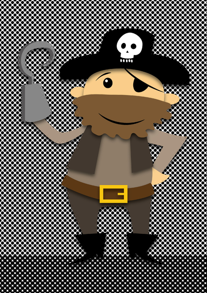 Cartoon Pirate: no description