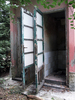 doors of abandoned toilets