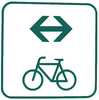 bike route both directions