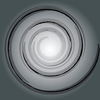 Swirl background grey
