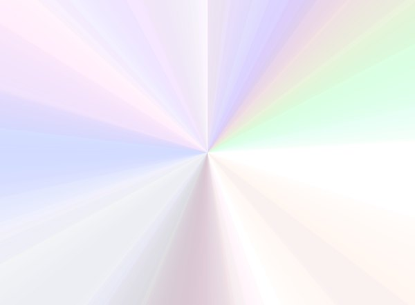 Pastel Burst: A pale pastel burst for a pretty background or fill.