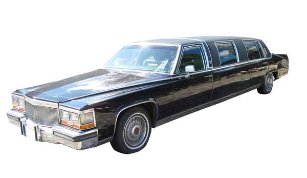 Limo: A very long car.