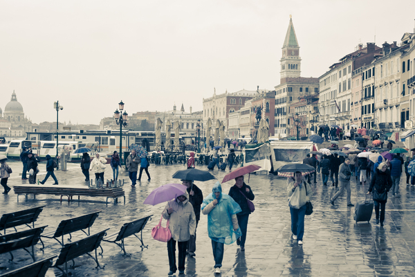 St Mark's Square In Venice 2: Photo of St Mark's Square in Venice