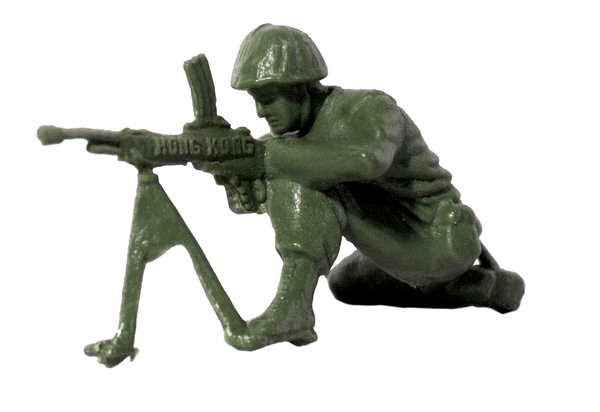Plastic Army Man 2: Plastic toy soldier
