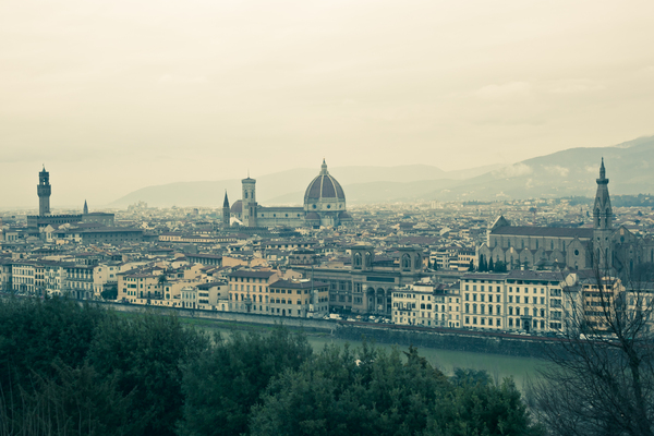 City Of Florence 1: Photo of city of Florence in Italy