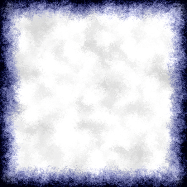 Blue Grunge Border: A dark grungy blue border or frame. Plenty of copyspace.