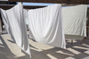 Washing line patio