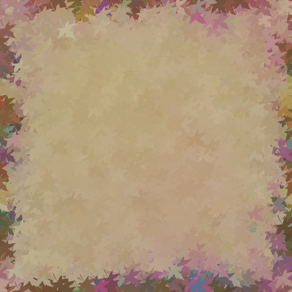 Decorated Parchment 8: A background of parchment decorated with a leafy border.