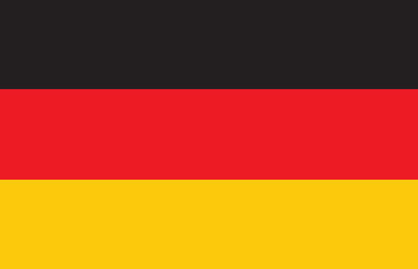 Germany flag: Flag from Germany