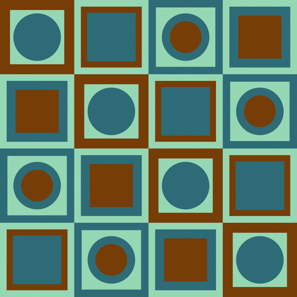 Squares 10: Square patterns in multiple modern and retro colours. Great texture or background. Nice scrapbooking element. You may prefer:  http://www.rgbstock.com/photo/mOnhcbi/Squares+3  or:  http://www.rgbstock.com/photo/mOnhc84/Squares+2