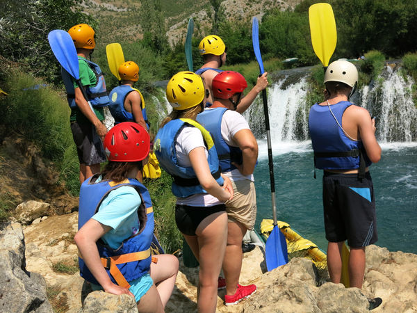 kayaking adventure: river Zrmanja, Croatia