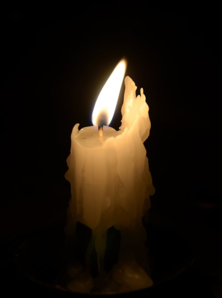 Candle 1: Just a simple burning candle!