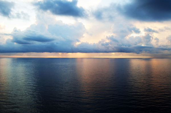 Clouds Over Sea 2: Photos taken off cruise ship to Nassau.