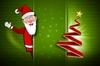 Old Green Santa