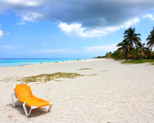 Tropic beach 2: The beach in Varadero, Cuba.The file formatted to be Windows desctop wallpaper at 1280*1024 pixels.
