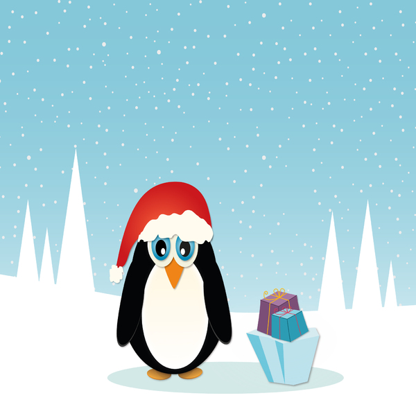 Christmas Penguin - 2: no description