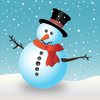 Snowmen blue