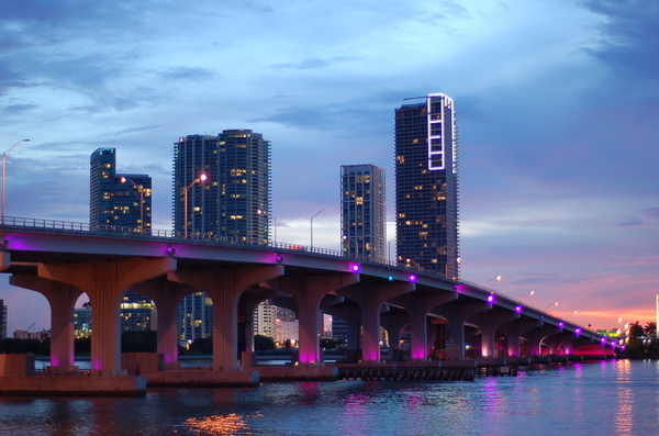 Miami at night 2: During a small boat ride threw south beach I caught these breath taking images
