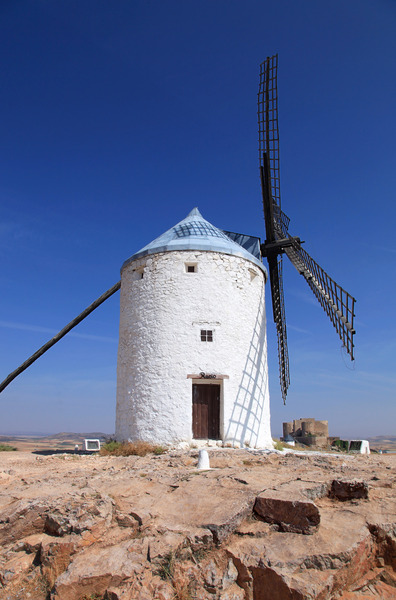 Windmills: Consuegra, Toledo, Spain