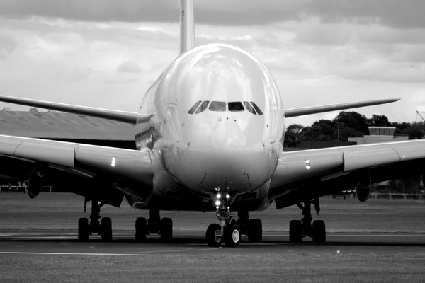 Airbus A380: Airbus A380 at Farnborough 08