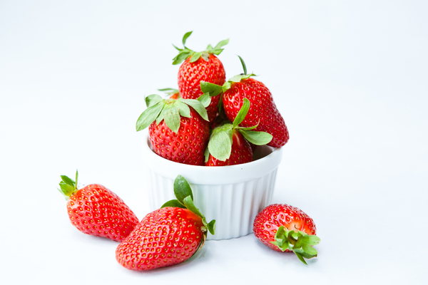 Fresh Strawberries 3: Photo of fresh strawberries