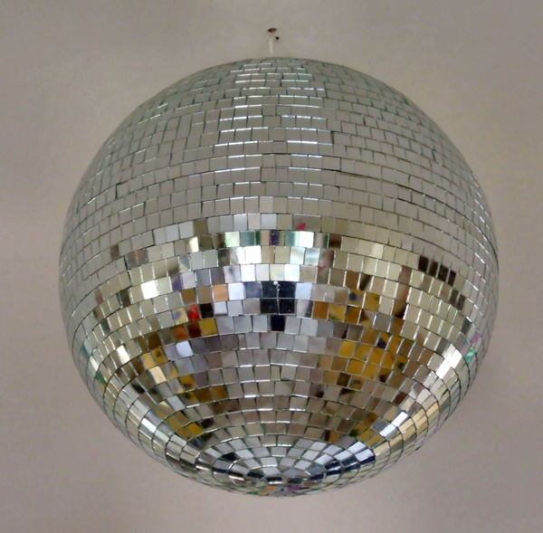 disco mirror ball1: multi-faceted mirrored disco ball