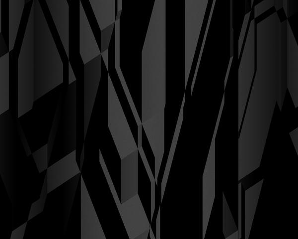 Darkness: A dark, sinister blocky background, fill or texture.