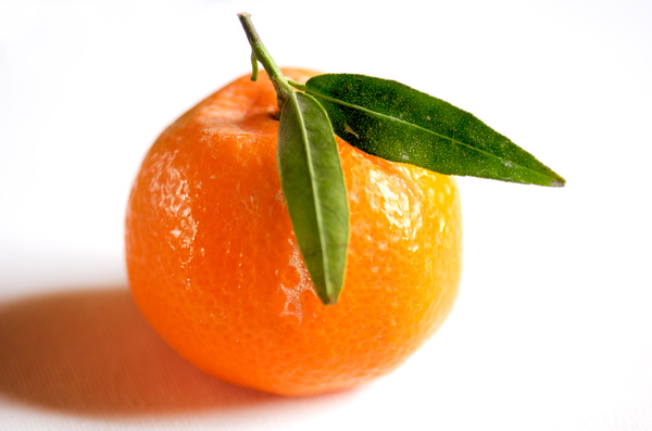 Tangerine: Tangerine on white background