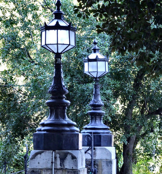 Free stock photos rgbstock free stock images historic park historic park gate lights mozeypictures Image collections