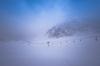 Ski Lift in Fog