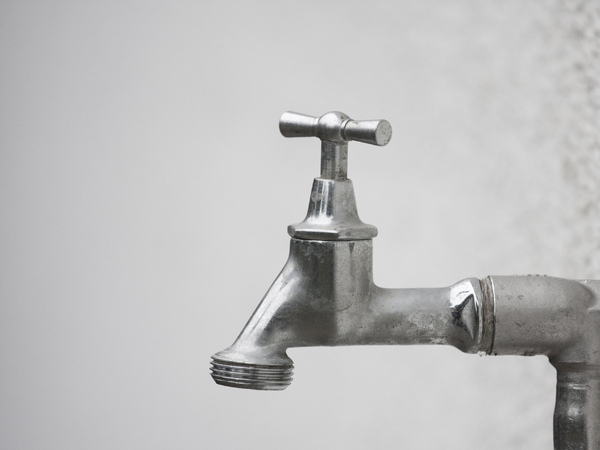 Just a water tap: Just a stainless steel water tap - perhaps someone might find it useful