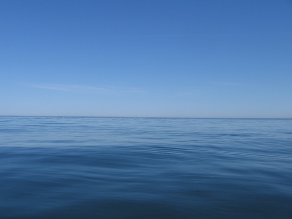 Blue sky blue water: Huntington Bay / Long Island Sound, NY